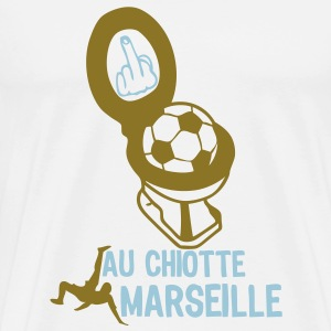 chiotte marseille football supporter Tee shirts - T-shirt Premium Homme