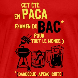 bac paca barbecue apero cuite biere Tee shirts - T-shirt Premium Homme