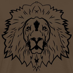 lion head T-Shirts - Men's Premium T-Shirt