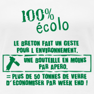 Motif ~ Tshirt humour breton geste eco citoyen