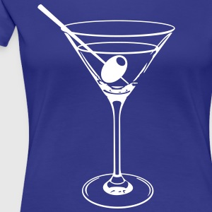 Cocktail Glas T-Shirts - Frauen Premium T-Shirt