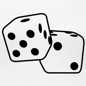 Roll the Dice T-Shirts - Frauen Premium T-Shirt