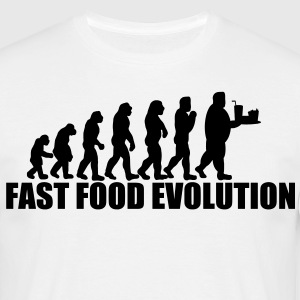 fast food evolution T-Shirts - Männer T-Shirt