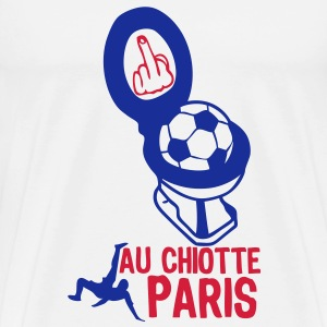 chiotte paris football non supporter Tee shirts - T-shirt Premium Homme