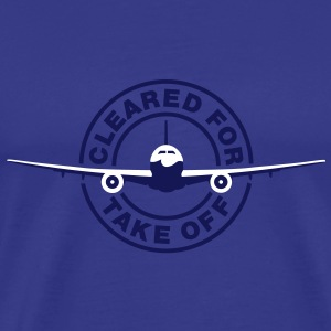 Cleared for take off T-Shirts - Mannen Premium T-shirt