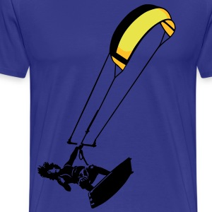 Kite surf - Men's Premium T-Shirt
