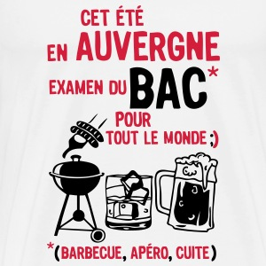 bac auvergne barbecue apero cuite biere Tee shirts - T-shirt Premium Homme