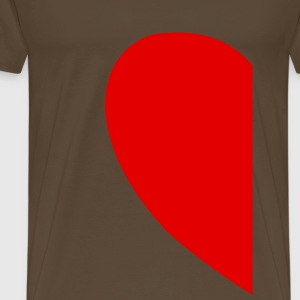 Heart Right T-Shirts - Männer Premium T-Shirt