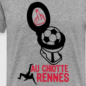 chiotte rennes football non supporter Tee shirts - T-shirt Premium Homme