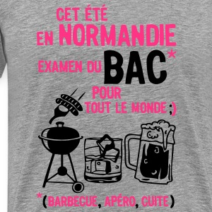 bac normandie  barbecue apero cuite biere Tee shirts - T-shirt Premium Homme