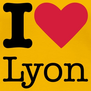 I Love Lyon T-Shirts - Frauen Premium T-Shirt