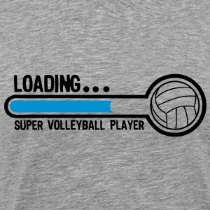 volleyball loading super player1 Tee shirts - T-shirt Premium Homme