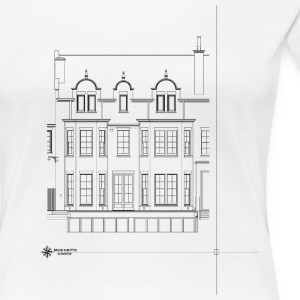Building Elevation - Women's Premium T-Shirt