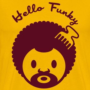 Hello funky - Men's Premium T-Shirt