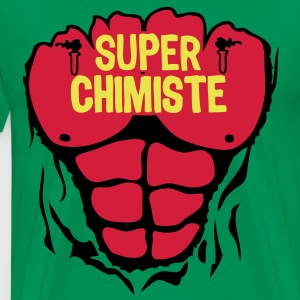 chimiste super corps muscle bodybuilding Tee shirts - T-shirt Premium Homme