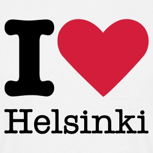 I Love Helsinki T-Shirts - Men's T-Shirt