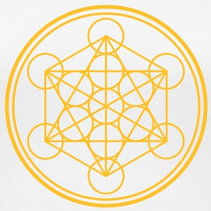 merkaba - flower of life T-Shirts - Women's Premium T-Shirt