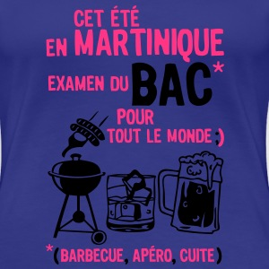 bac martinique barbecue apero cuite biere Tee shirts - T-shirt Premium Femme