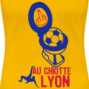 chiotte lyon football non supporter Tee shirts - T-shirt Premium Femme