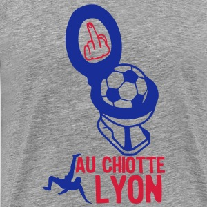 chiotte lyon football non supporter Tee shirts - T-shirt Premium Homme