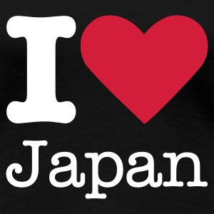 I Love Japan T-shirts - Vrouwen Premium T-shirt