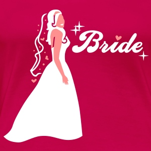 Braut - Bride - Team - Groom T-Shirts - Women's Premium T-Shirt