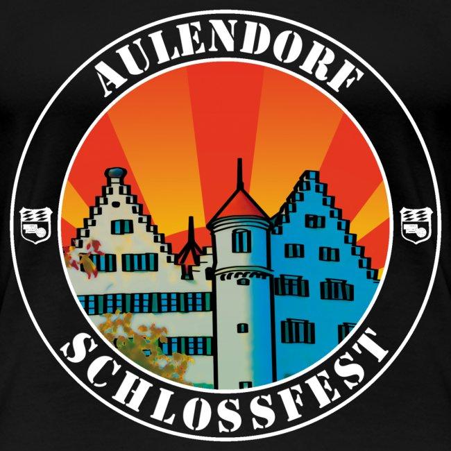 Schlossfest Shirt weiss