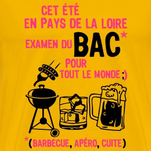bac pays loire  barbecue apero cuite biere Tee shirts - T-shirt Premium Homme
