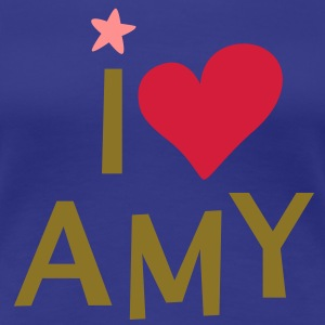 i love amy - Frauen Premium T-Shirt
