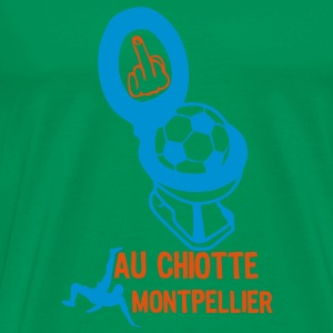 chiotte montpellier football non suppor Tee shirts - T-shirt Premium Homme