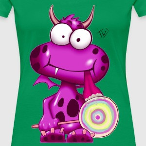 Monsta pink - Monster T-Shirt - Frauen Premium T-Shirt