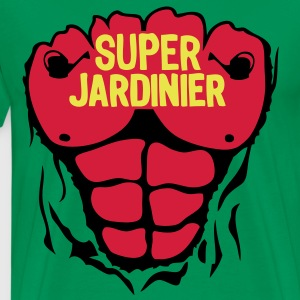 jardinier super corps muscle bodybuildin Tee shirts - T-shirt Premium Homme