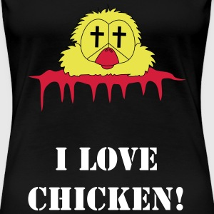 chicken head T-Shirts - Women's Premium T-Shirt