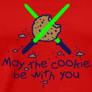 May the cookie be with you T-Shirts - Men's Premium T-Shirt