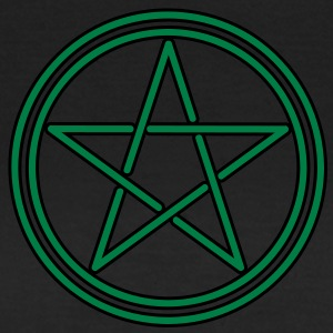 pagan celtic pentagram T-shirts - Dame-T-shirt