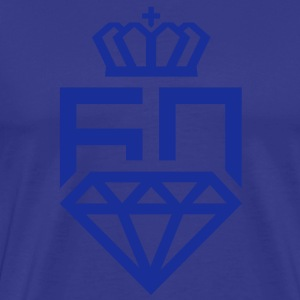 60 year diamond jubilee queen elizabeth logo T-Shirts - Men's Premium T-Shirt