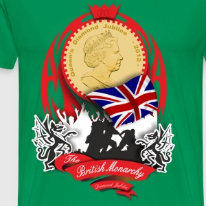 british monarchy - diamond jubilee T-Shirts - Men's Premium T-Shirt