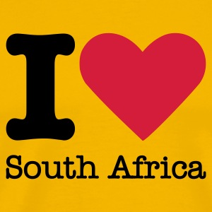I Love South Africa T-shirts - Mannen Premium T-shirt
