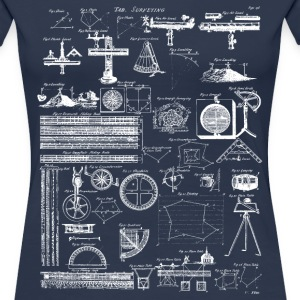 Table of Surveying - Women's Premium T-Shirt