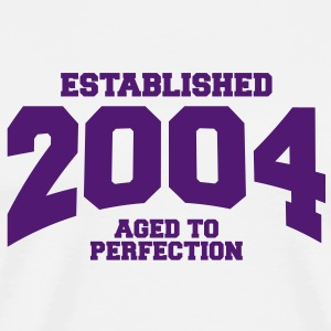 aged to perfection established 2004 (sv) T-shirts - Premium-T-shirt herr