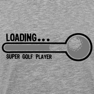 golf balle loading super player1 Tee shirts - T-shirt Premium Homme