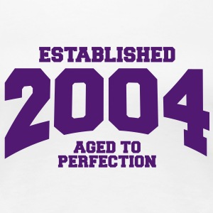 aged to perfection established 2004 (uk) T-Shirts - Women's Premium T-Shirt