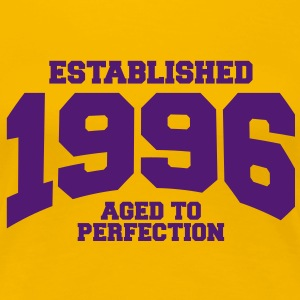 aged to perfection established 1996 (fr) Tee shirts - T-shirt Premium Femme