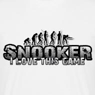 Motiv ~ i love snooker