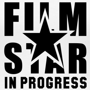 FILM STAR IN PROGRESS Girls T-Shirt BW - Women's Premium T-Shirt