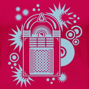 jukebox (B, 1c) T-Shirts - Frauen Premium T-Shirt