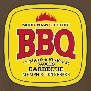 BBQ Barbecue - More Than Grilling - Männer Premium T-Shirt