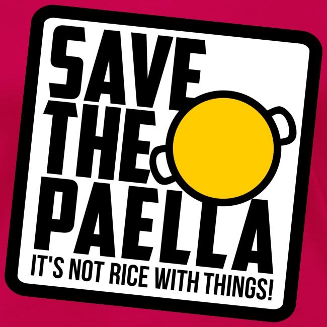 Save the paella - Color (Xica)