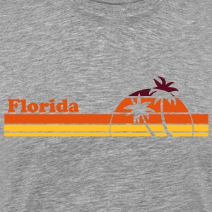 Florida Sunset TS Homme - T-shirt Premium Homme