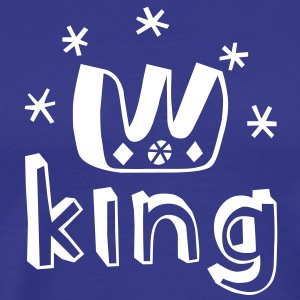 I am a King! T-Shirts - Men's Premium T-Shirt